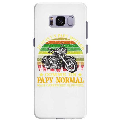 Papy Motard Samsung Galaxy S8 Plus Case Designed By Redline77