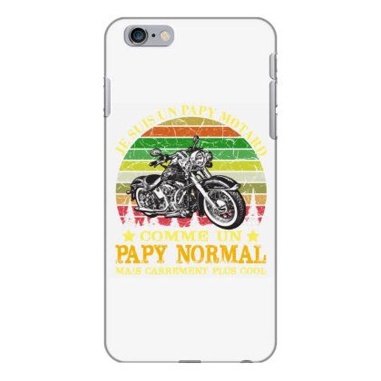 Papy Motard Iphone 6 Plus/6s Plus Case Designed By Redline77