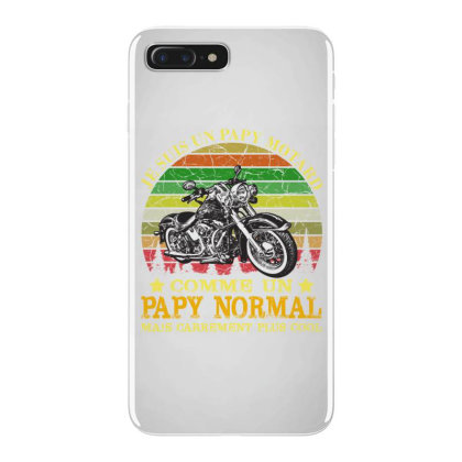 Papy Motard Iphone 7 Plus Case Designed By Redline77