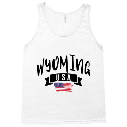 Wyoming Tank Top Designed By Alececonello