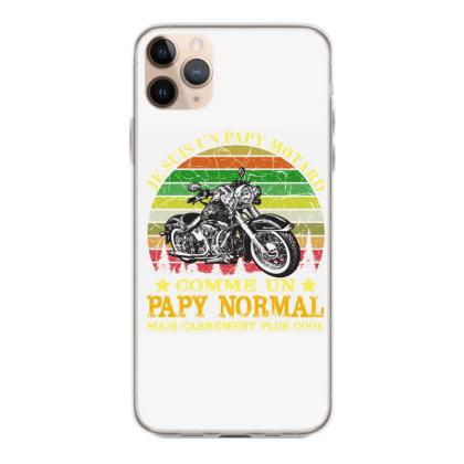 Papy Motard Iphone 11 Pro Max Case Designed By Redline77