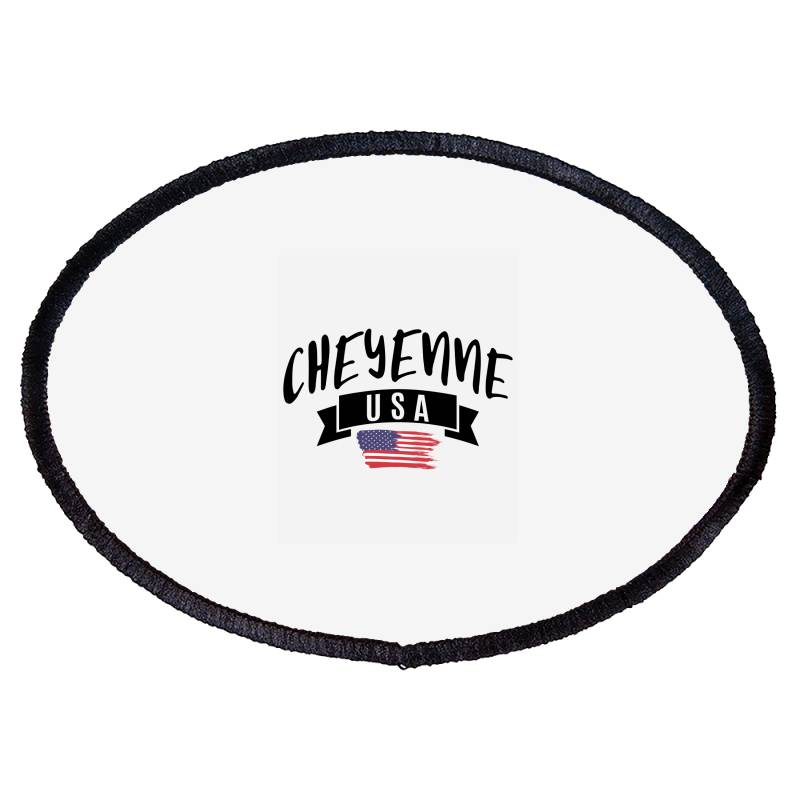 Cheyenne Oval Patch | Artistshot