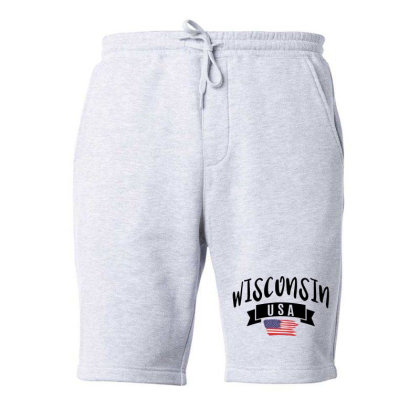 Wisconsin Fleece Short Designed By Alececonello
