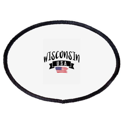 Wisconsin Oval Patch Designed By Alececonello