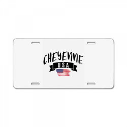 Cheyenne License Plate | Artistshot