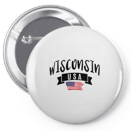 Wisconsin Pin-back Button Designed By Alececonello