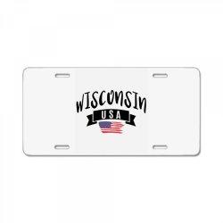 Wisconsin License Plate | Artistshot