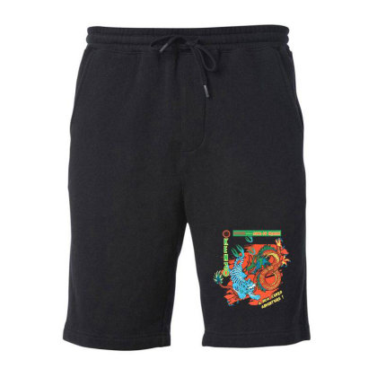Kungfu Fleece Short Designed By Disgus_thing