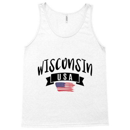Wisconsin Tank Top Designed By Alececonello