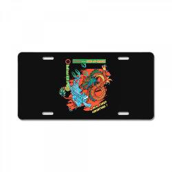 kungfu License Plate | Artistshot