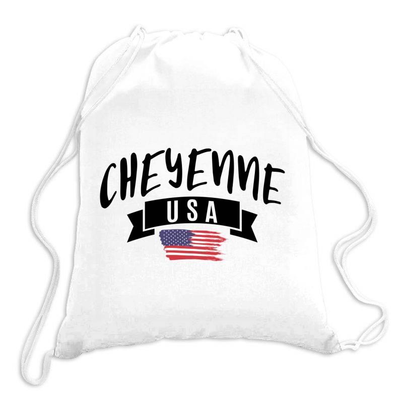 Cheyenne Drawstring Bags | Artistshot