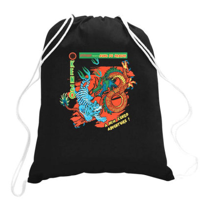 Kungfu Drawstring Bags Designed By Disgus_thing