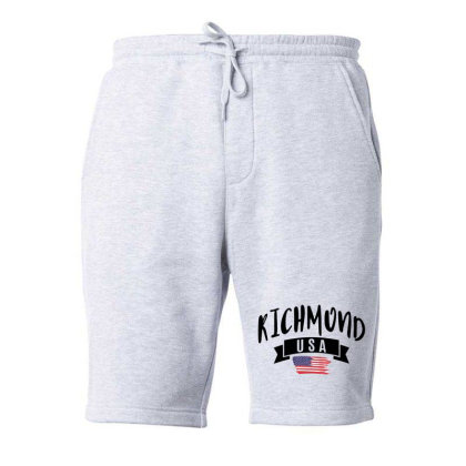 Richmond Fleece Short Designed By Alececonello