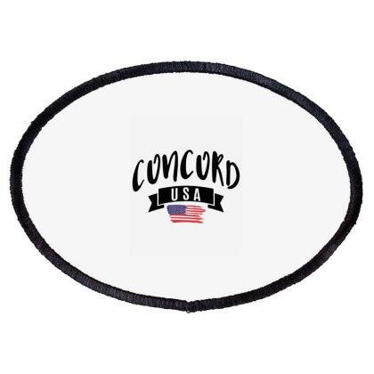 Concord Oval Patch Designed By Alececonello