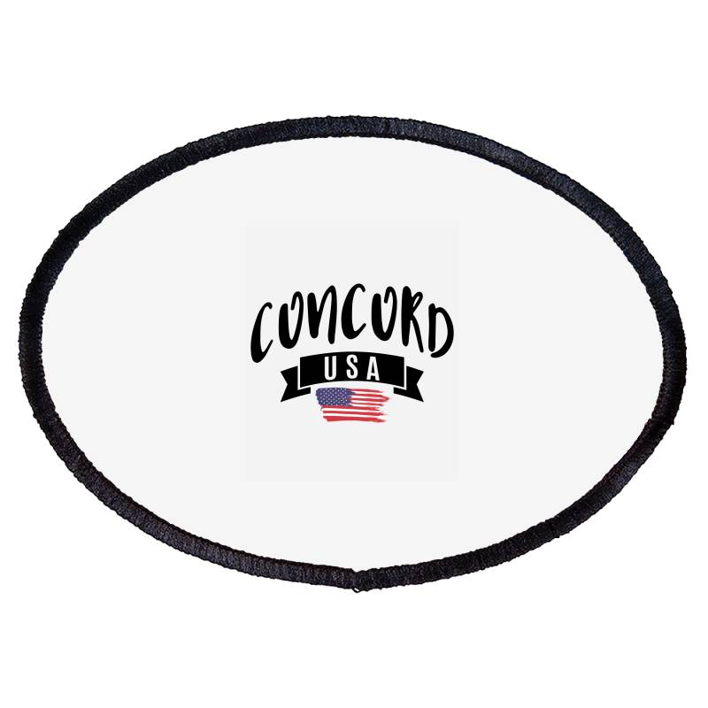 Concord Oval Patch | Artistshot