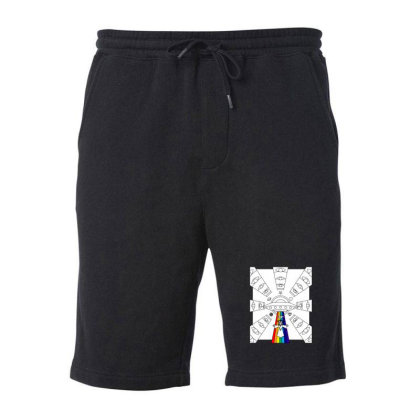 Space Jesus Integlatic Nativty Scence Fleece Short Designed By Sr88