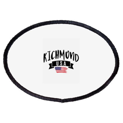Richmond Oval Patch Designed By Alececonello