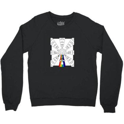 Space Jesus Integlatic Nativty Scence Crewneck Sweatshirt Designed By Sr88