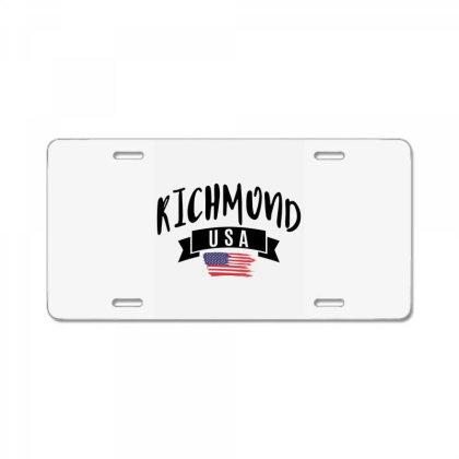 Richmond License Plate Designed By Alececonello