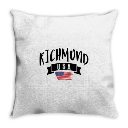 Richmond Throw Pillow Designed By Alececonello