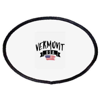Vermont Oval Patch Designed By Alececonello
