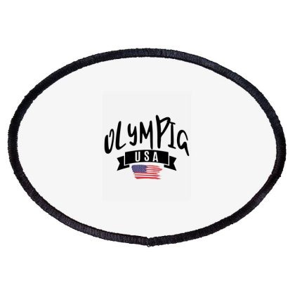 Olympia Oval Patch Designed By Alececonello