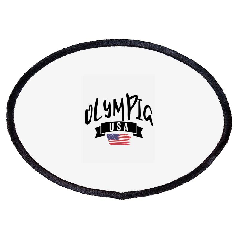 Olympia Oval Patch | Artistshot
