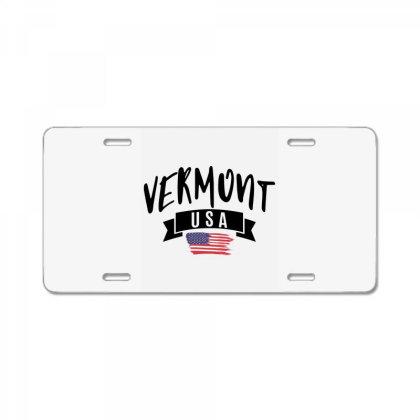 Vermont License Plate Designed By Alececonello