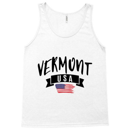 Vermont Tank Top Designed By Alececonello