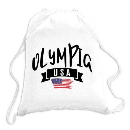 Olympia Drawstring Bags Designed By Alececonello