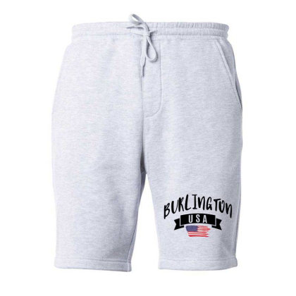 Burlington Fleece Short Designed By Alececonello