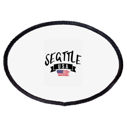 Seattle Oval Patch Designed By Alececonello