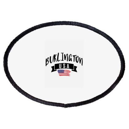 Burlington Oval Patch Designed By Alececonello
