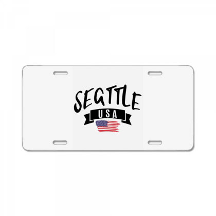 Seattle License Plate Designed By Alececonello