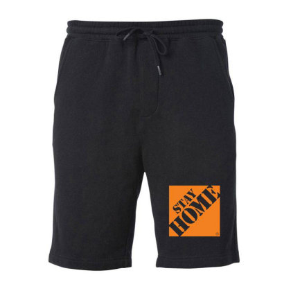 Stay Home Despot 1 Fleece Short Designed By Sr88