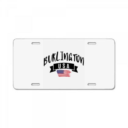 Burlington License Plate Designed By Alececonello