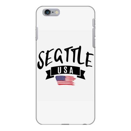 Seattle Iphone 6 Plus/6s Plus Case Designed By Alececonello