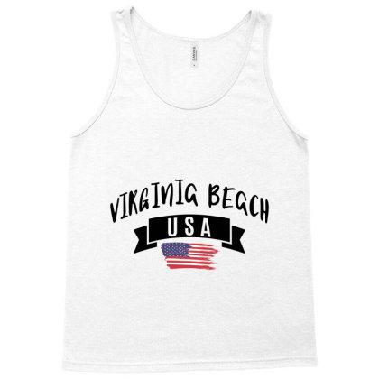 Virginia Beach Tank Top Designed By Alececonello