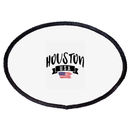 Houston Oval Patch Designed By Alececonello