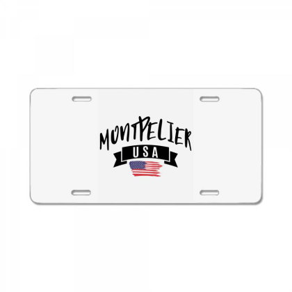 Montpelier License Plate Designed By Alececonello