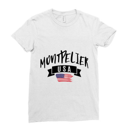 Montpelier Ladies Fitted T-shirt Designed By Alececonello
