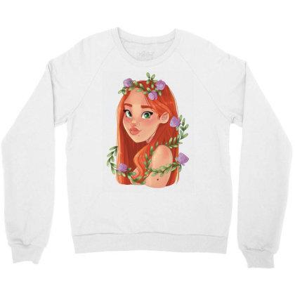 You Grow Girl! Crewneck Sweatshirt Designed By Adesignerlife