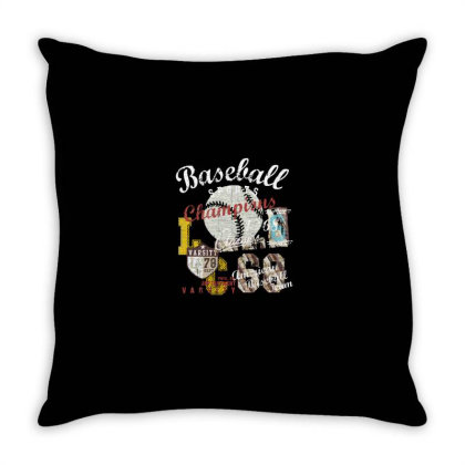 Baseball Throw Pillow Designed By Disgus_thing