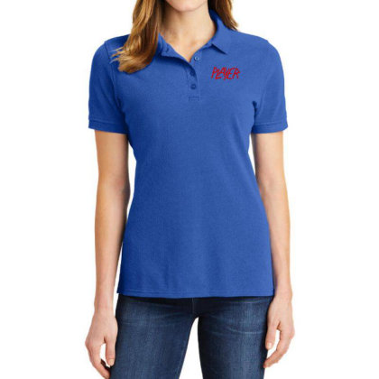 Slayer Player Ladies Polo Shirt Designed By Sr88
