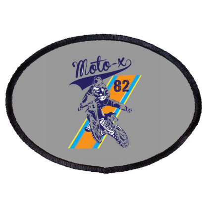 Moto Oval Patch Designed By Disgus_thing