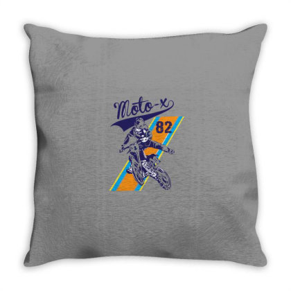 Moto Throw Pillow Designed By Disgus_thing