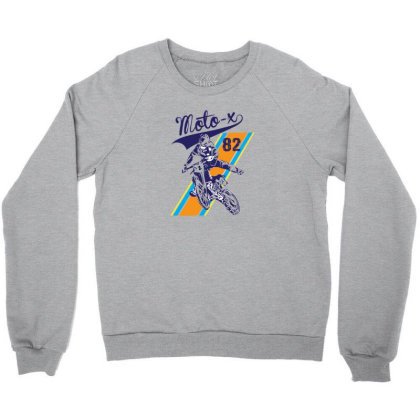 Moto Crewneck Sweatshirt Designed By Disgus_thing