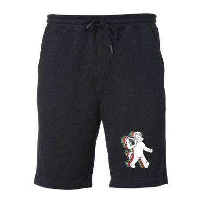 Funkicorn Fleece Short Designed By Sr88