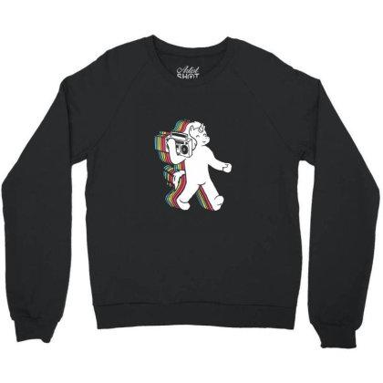 Funkicorn Crewneck Sweatshirt Designed By Sr88