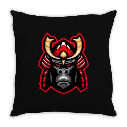 Gorilla Throw Pillow Designed By Estore